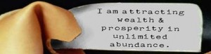 I am attracting unlimited abundance proverb