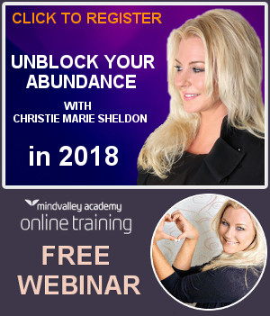 2017 Unlimited Abundance Program Mindvalley Webinar With Christie Marie Sheldon