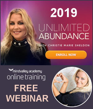 2019 Unlimited Abundance Program Mindvalley Webinar With Christie Marie Sheldon