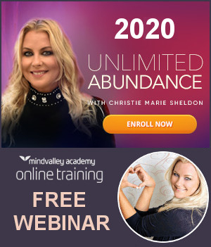 2020 Unlimited Abundance Program Mindvalley Webinar With Christie Marie Sheldon